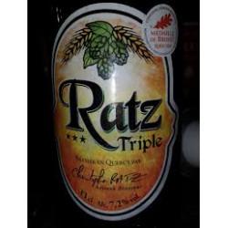 Bière Ratz Triple 33 cl